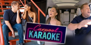 Ariana Grande's Carpool Karaoke is here and it is what we wished for and more!