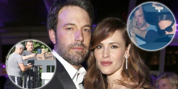 Ben Affleck back in the rehab after Jennifer Garner's staged intervention!