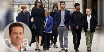Angelina Jolie and Brad Pitt finally agree on their kids custody!