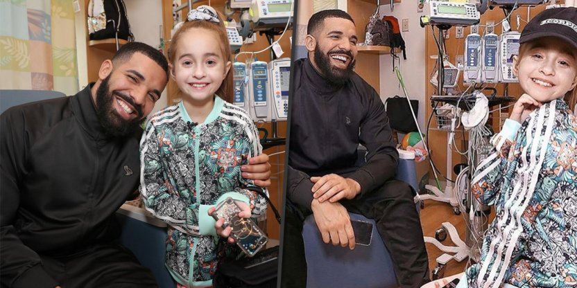 Drake paid a surprise visit to his 11-year-old fan who is waiting for heart transplant