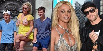Britney Spears battles her ex-husband, Kevin Federline, in court over child support