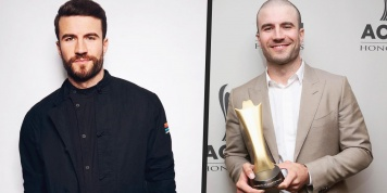 Sam Hunt can be barely recognized after shaving his head and beard