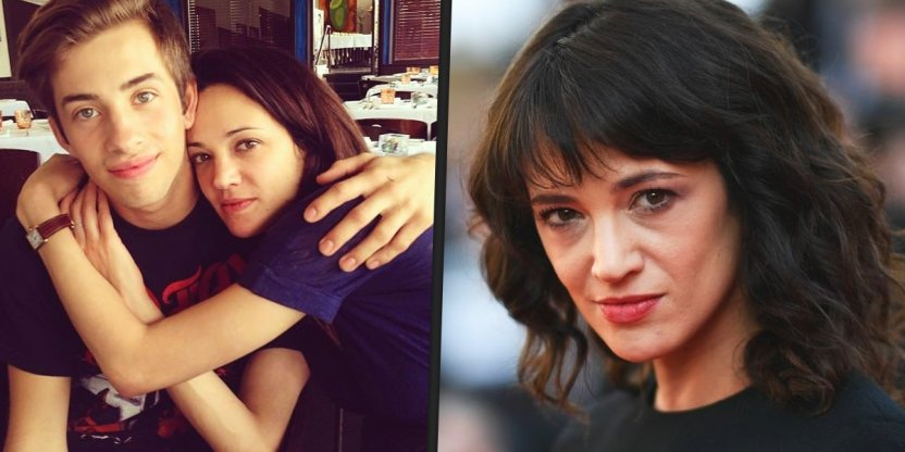 Asia Argento's picture with her then-17-year-old victim was released!