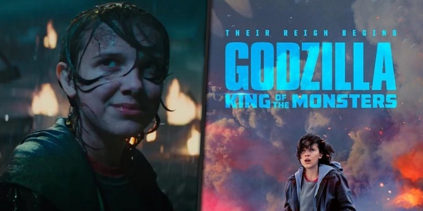 Strangest thing is to happen at the cinemas! Millie Bobby Brown will meet Godzilla