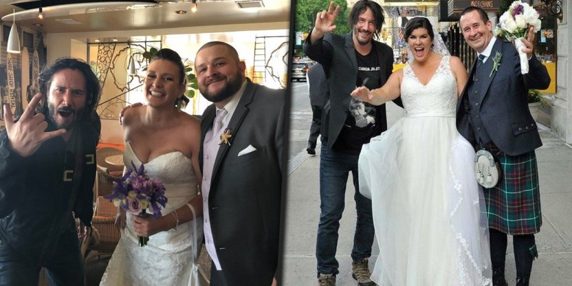 Keanu Reeves might crash your wedding soon!