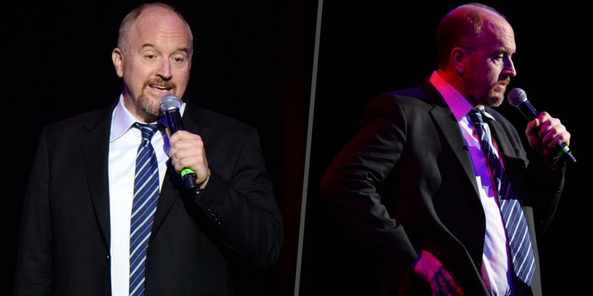 Louis C.K. back on the stage for the first time after his allegations!