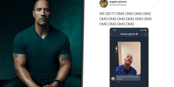 Dwayne Johnson honors fan killed in car crash