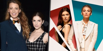 Anna Kendrick opens up about kissing Blake Lively