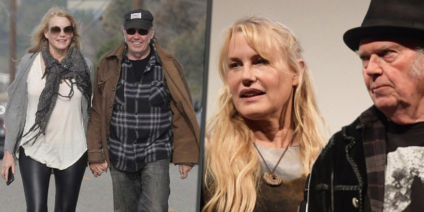 Neil Young and Daryl Hannah reportedly got married