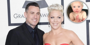 Pink's husband daddy shamed for posting a picture of his son!