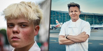 Gordon Ramsay gives job to student with dwarfism