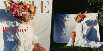 Beyonce made history with her September Vogue cover