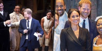 Prince Harry singing a bit of Hamilton makes the crowd go crazy! (Video)