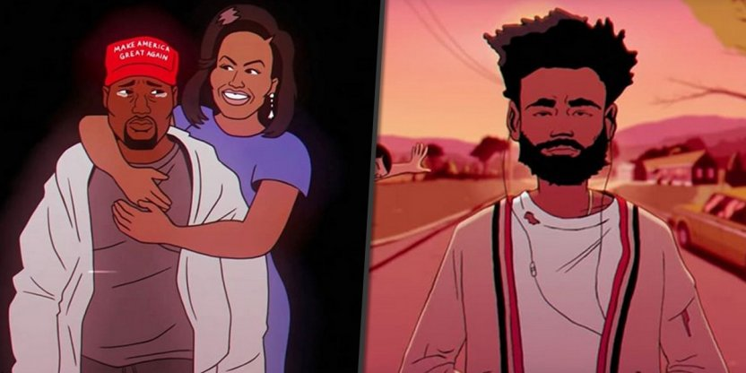 Childish Gambino's new music video is filled with celebrity parodies