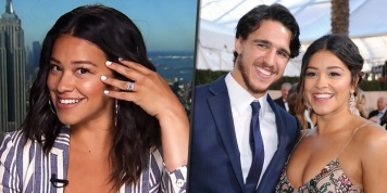 "Gina Rodriguez: ""I'm Stuck With That Man for Life"""