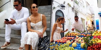 Jennifer Lopez and Alex Rodriguez spotted on a romantic trip to Italy