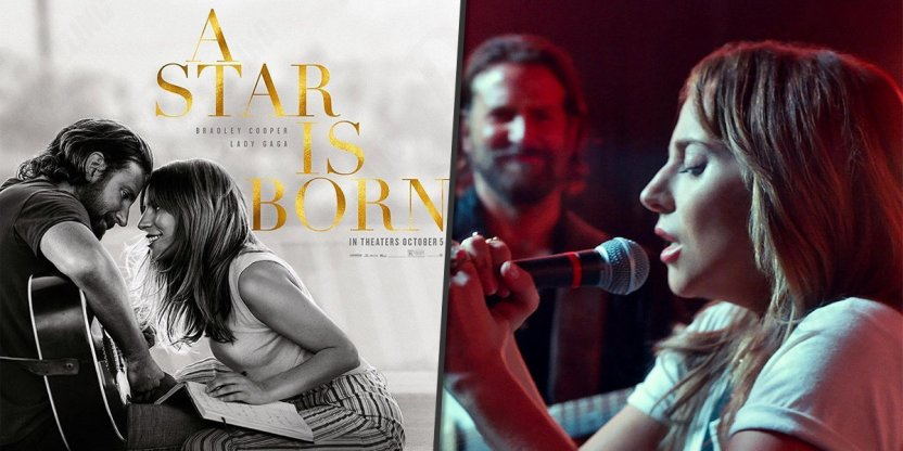 Lady Gaga and Bradley Cooper are a match made in heaven in 'A Star Is Born'