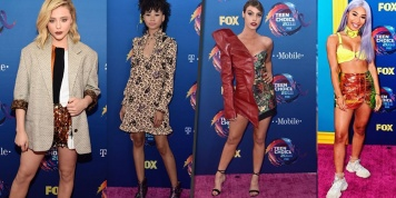 Best and worst dressed stars at the Teen Choice Awards 2018